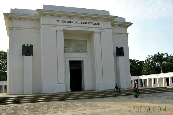 Places to visit in Colombia - Simon Bolivar Memorial Monument