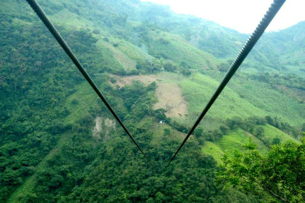 Places to visit in Colombia, Tobia Zipline