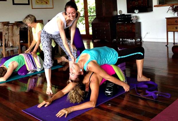 Yoga and writing retreat