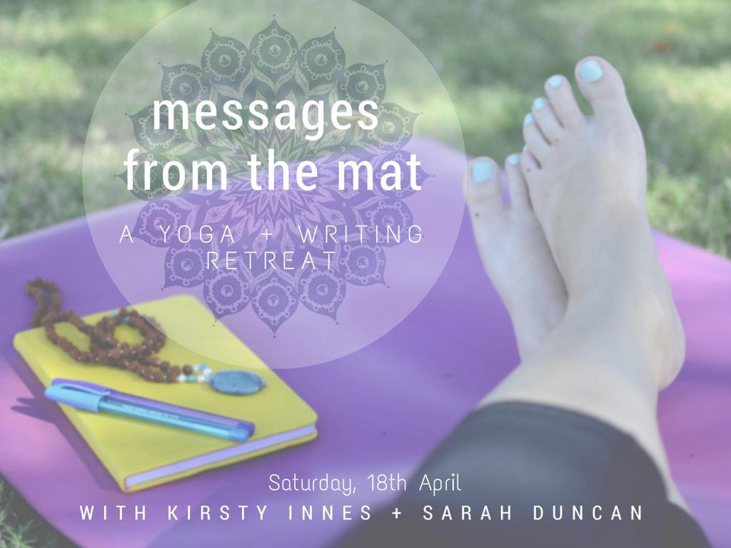 Yoga and writing retreat, Brisbane