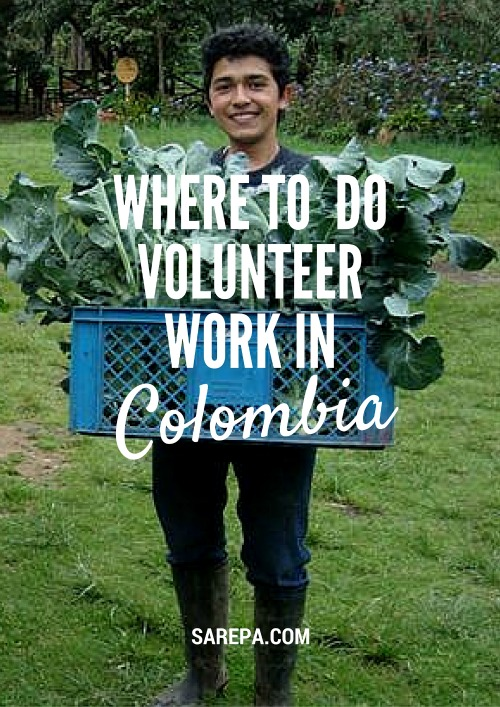 Where to volunteer in Colombia. Read more here: