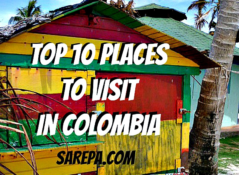 Top places to visit in Colombia