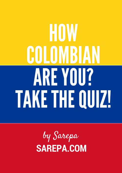 How Colombian are you?