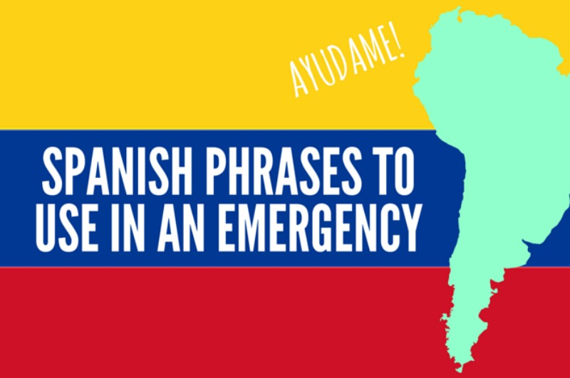 Spanish words to use in an emergency