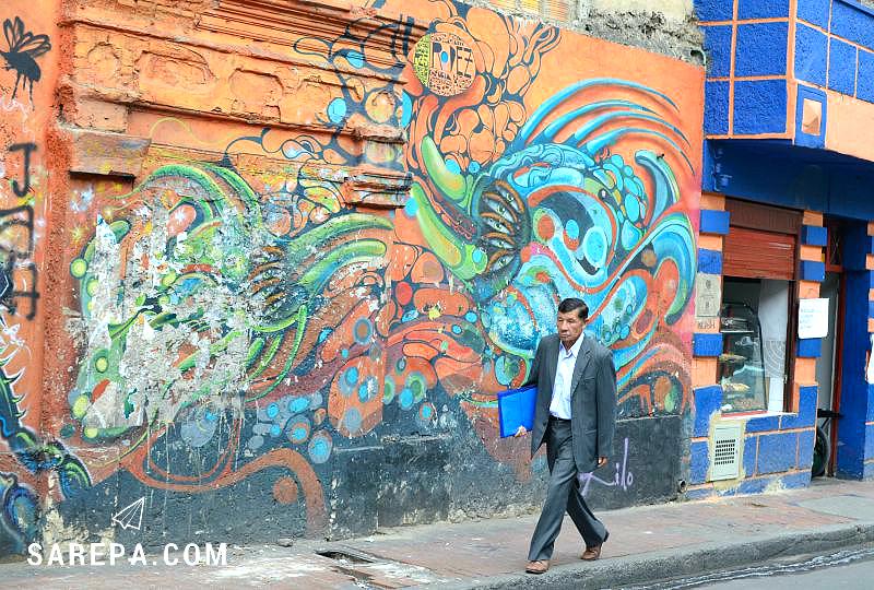 Bogota Graffiti Tour