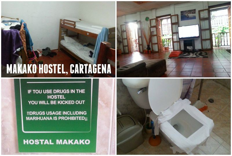 Hostels in Colombia - Hostel Makako, Cartagena