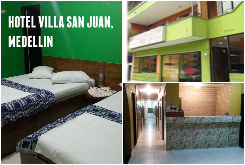 Hostels in Colombia - Hotel Villa San Juan, Medellin