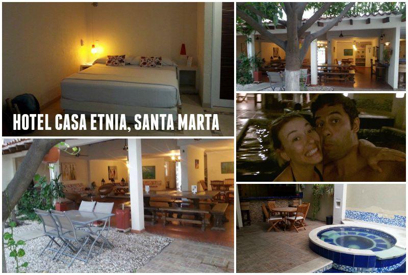 Hostels in Colombia - Casa Etnia, Santa Marta