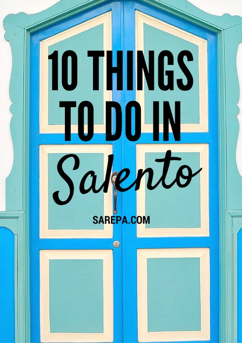 Things to do in Salento