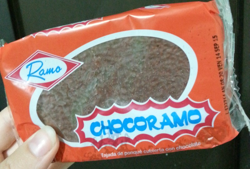 The chocoramo that made us late for the tour