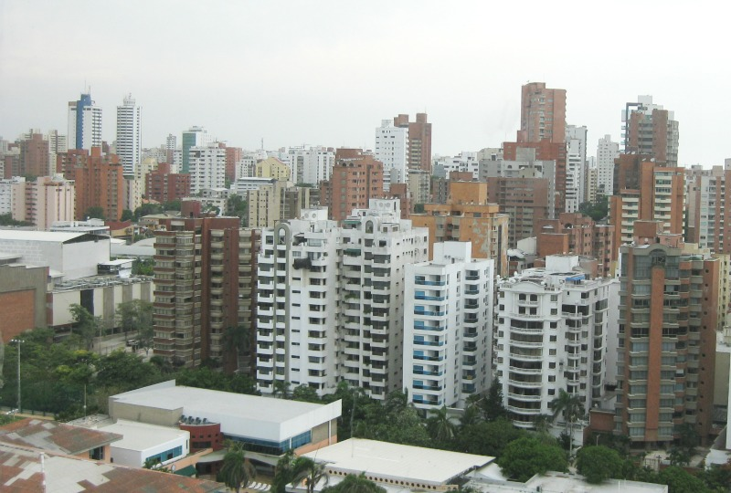 The view of Barranquilla