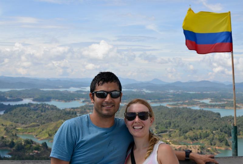 El Peñol Guatape view
