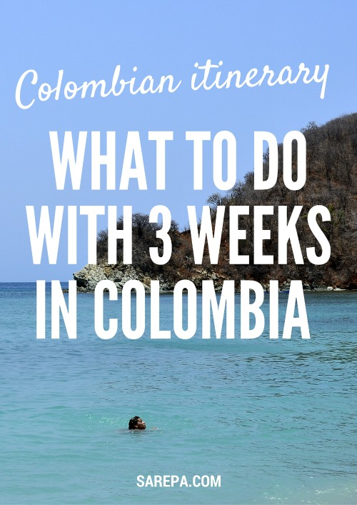 Travel Colombia Itinerary