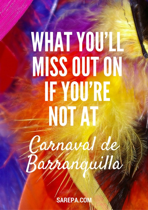 What you'll miss out on if you're not at the Carnaval de Barranquilla