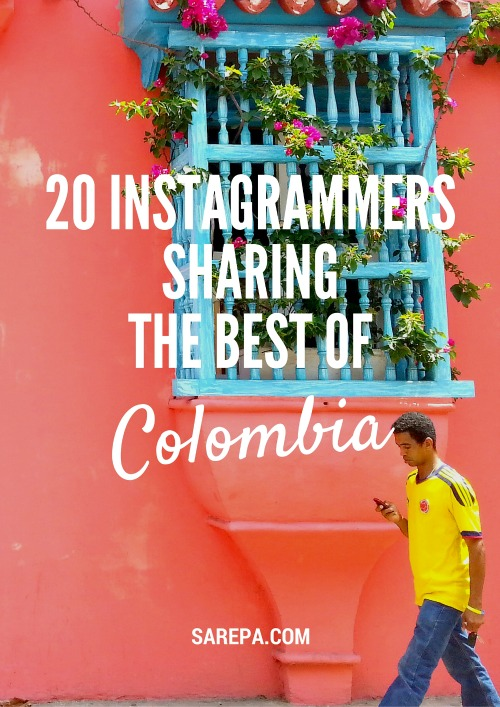 20 Instagrammers showing the best of Colombia. Check them out!