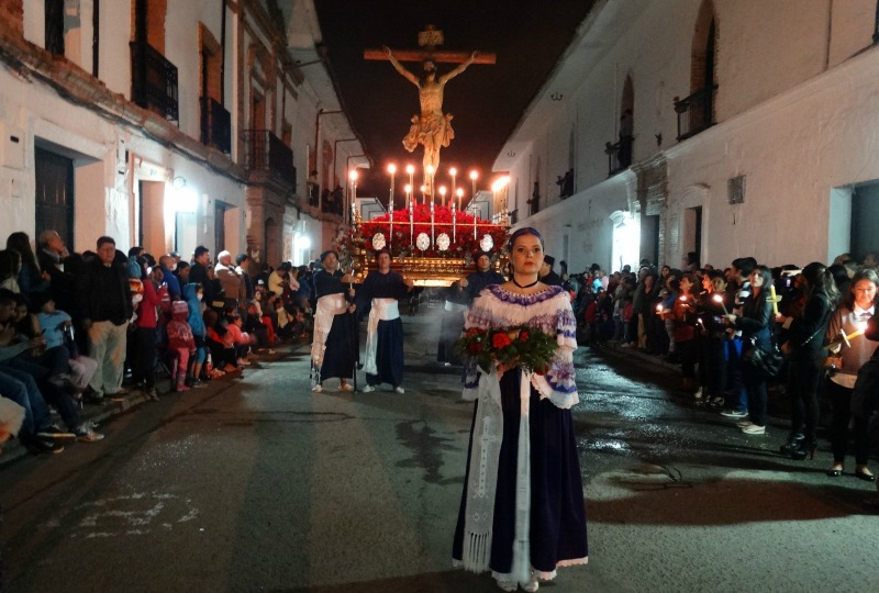 Easter in Colombia - The procession in Popayan