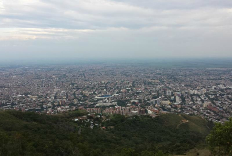 The view of Cali, Colombia