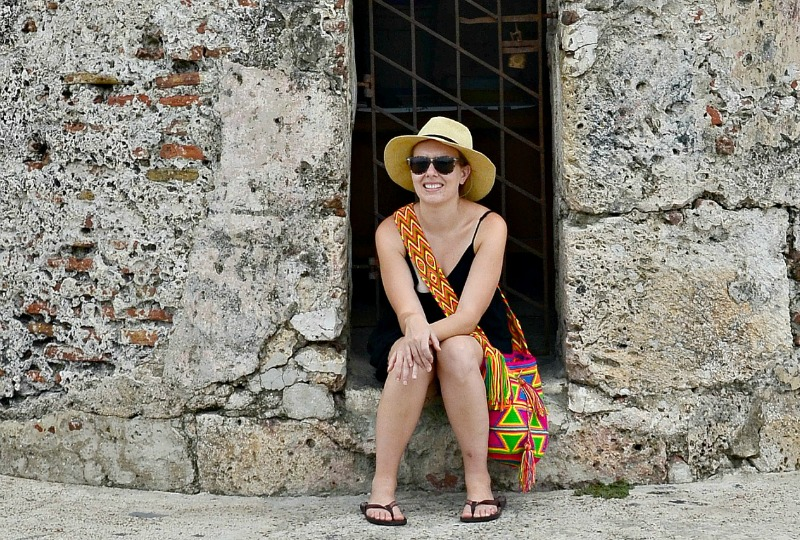 Things to do in Cartagena - walk along the wall