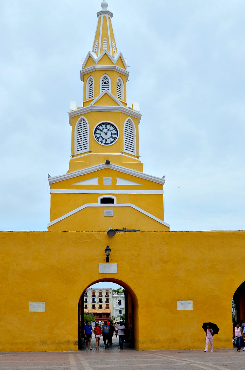 Things to do in Cartagena - Torre del Reloj